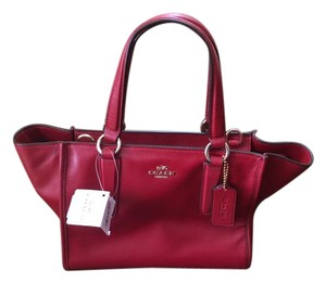 Coach Small Tote in Red