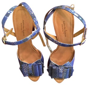 Nanette Lepore Blue multi Platforms