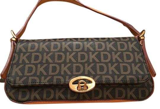 Preload https://item1.tradesy.com/images/dkny-sweet-logo-in-tradition-dark-brown-background-and-cognac-letters-coated-vinyl-messenger-bag-18971680-0-2.jpg?width=440&height=440