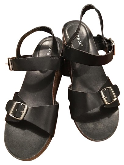 Preload https://item2.tradesy.com/images/bamboo-funky-corky-black-leather-straps-silver-buckles-and-studs-on-sides-platforms-size-us-8-regula-18971956-0-1.jpg?width=440&height=440