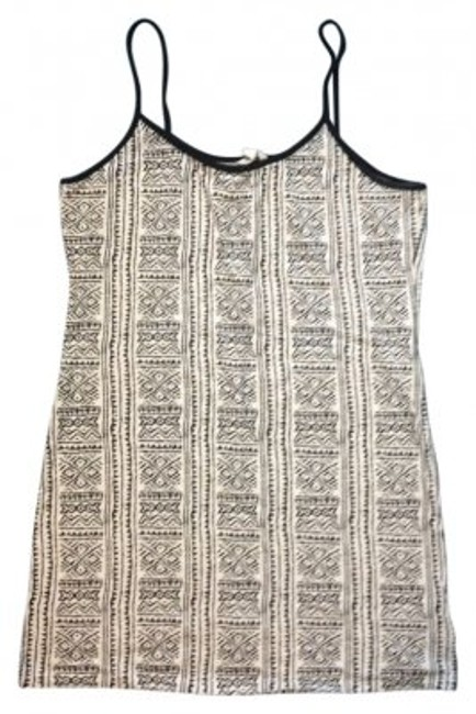 Preload https://item3.tradesy.com/images/heritage-1981-black-and-white-print-tribal-tank-topcami-size-4-s-18972-0-0.jpg?width=400&height=650