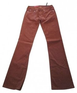 AG Adriano Goldschmied Boot Cut Pants Burnt Orange