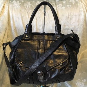 Francesco Biasia Satchel in Charcoal