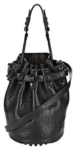 Alexander Wang Diego Matte Bucket Leather Shoulder Bag