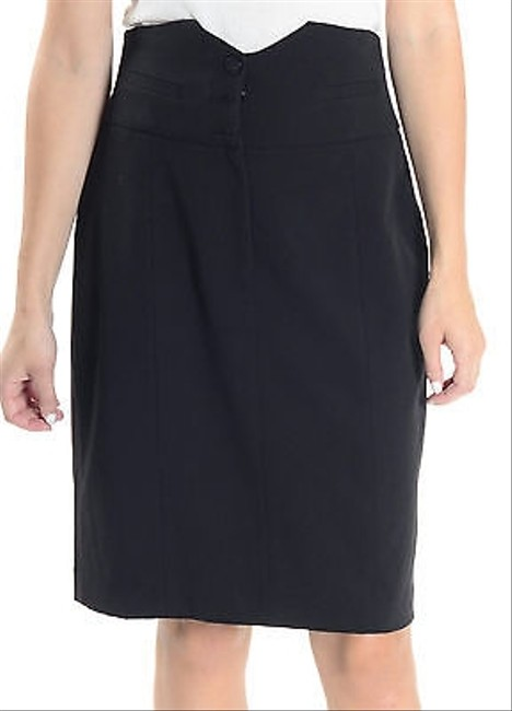 Kensie Straight Skirt Black