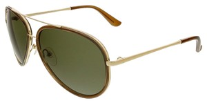 Salvatore Ferragamo Salvatore Ferragamo Brown/Light Gold Tone Aviator