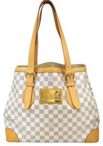 Louis Vuitton Damier Azur Canvas Hampstead Shoulder Bag