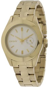 DKNY DKNY Women's Nolita Gold Tone White Subeye Watch NY2132