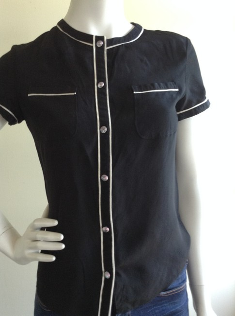 Moschino Button Down Shirt Black