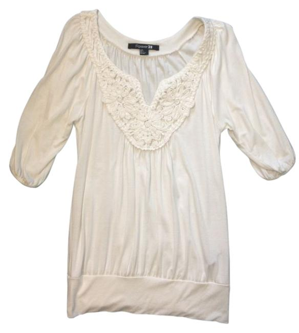 Forever 21 Top White/Cream