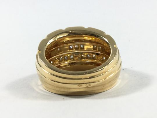 Cartier Estate Cartier 18k Yellow Gold Oriane Pave Diamond Ring