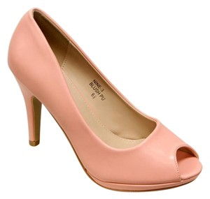 Bella Marie Blush / Salmon Pumps