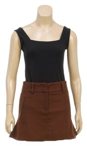 Costume National Mini Skirt Brown