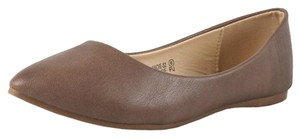 Bella Marie Taupe Flats