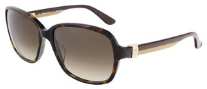 Salvatore Ferragamo Salvatore Ferragamo Tortoise Rectangular Sunglasses