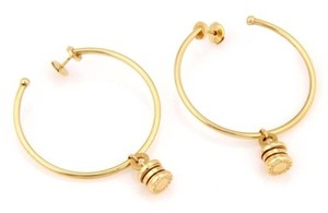 Bulgari Bvlgari,Bulgari,B.zero1,18k,Yellow,Gold,Hoop,Earrings,With,Box