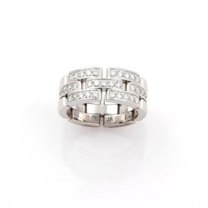Cartier ,Cartier,18k,White,Gold,Maillon,Panthere,8mm,Diamond,Band,-,Size,52