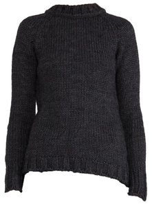 ANINE BING Wool Charcoal Sweater
