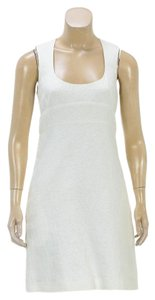 Chloé short dress Off-White on Tradesy