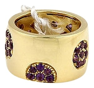 Koesia ,Koesia,18k,Yellow,Gold,Amethyst,14mm,Band,-,Size,7.25