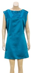 Nina Ricci short dress Teal on Tradesy