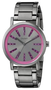 DKNY DKNY Women's Soho Three Hand Stainless Steel Watch NY2420