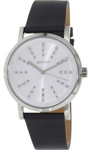 DKNY DKNY Women's Soho Three Hand Leather Watch NY2421