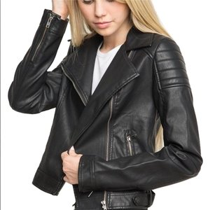 Brandy Melville Classic Motorcycle Jacket