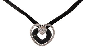 John Hardy John,Hardy,Sterling,Silver,18k,Gold,Triple,Heart,Pendant,Necklace,W,Diamonds