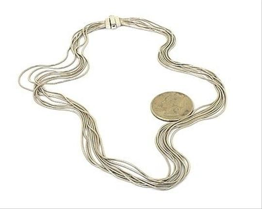 Other Trendy,14k,White,Gold,Multistrand,Ladies,Chain,Necklace