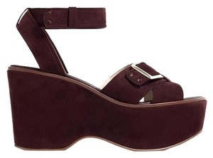 Zara Brown Platforms