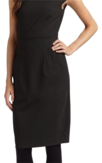 Preload https://item4.tradesy.com/images/theory-black-cap-sleeve-knee-length-workoffice-dress-size-10-m-18978913-0-1.jpg?width=400&height=650