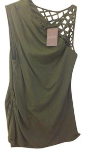 Anthropologie T Shirt Olive