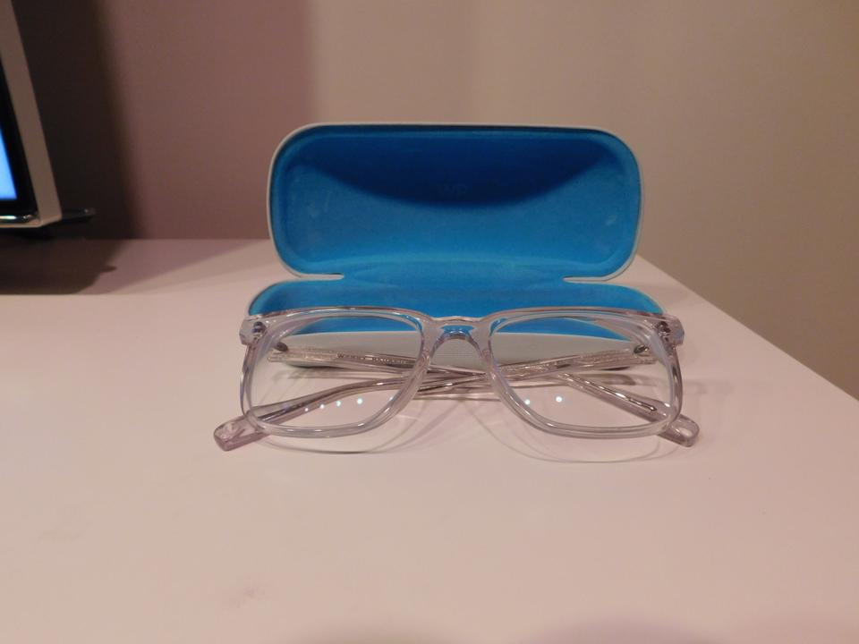 a754c2922c15 Warby Parker Clear Chamberlain Glasses In Crystal - Tradesy