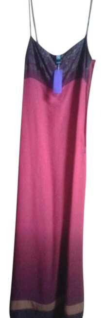 Preload https://img-static.tradesy.com/item/18980011/laundry-by-shelli-segal-red-maroon-brown-long-casual-maxi-dress-size-8-m-0-1-650-650.jpg