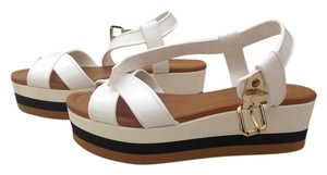 Fendi Platform Sandals Multicolor Wedges