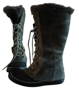 Sorel Gray tan Boots