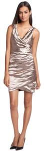 Nicole Miller Metallic Dress
