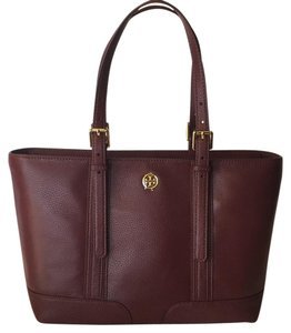 Tory Burch Tory Fashion Tote in Deep Berry