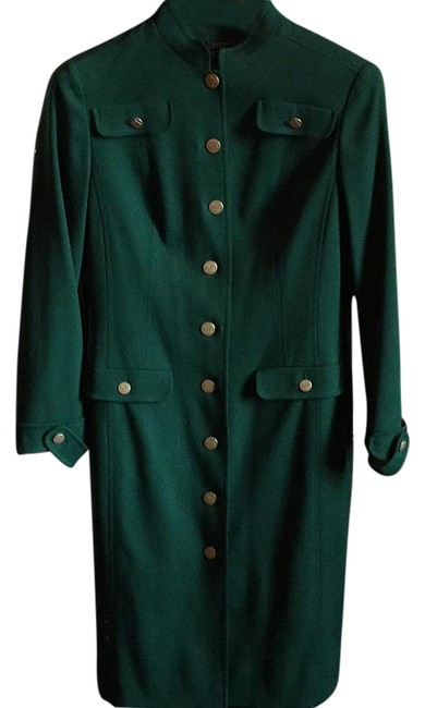 Preload https://item3.tradesy.com/images/escada-green-mid-length-workoffice-dress-size-8-m-18980827-0-1.jpg?width=400&height=650