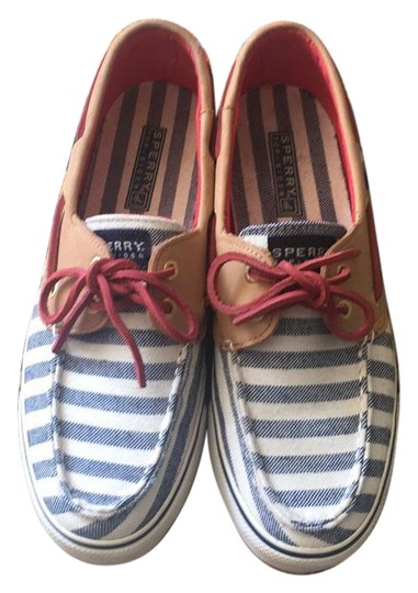 Preload https://item4.tradesy.com/images/sperry-cream-blue-red-and-beige-flats-size-us-75-regular-m-b-18980893-0-1.jpg?width=440&height=440