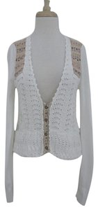 Free People Fair Isle Yoke Cardigan Sweater