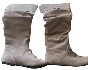 Steve Madden Stone Grey Suede Boots