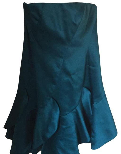 Preload https://img-static.tradesy.com/item/18981043/phoebe-couture-teal-above-knee-cocktail-dress-size-10-m-0-4-650-650.jpg