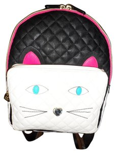 Betsey Johnson Kitsch Fun Quilted Backpack