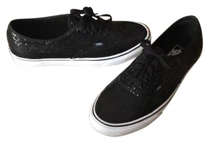 Vans Black sequin Athletic