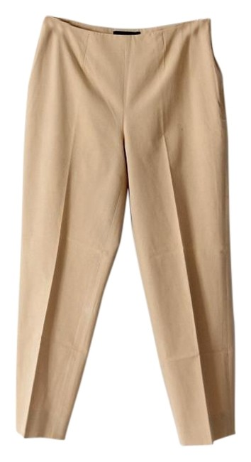 Item - Tan Audrey Cropped Pants Size 8 (M, 29, 30)