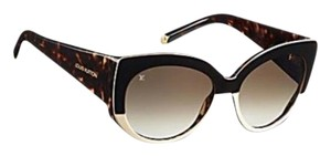 Louis Vuitton Brown tortoiseshell resin Louis Vuitton Veronica sunglasses