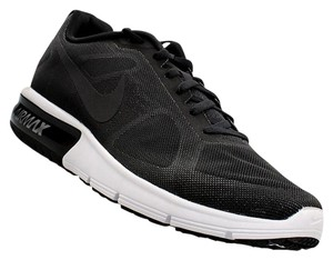 Nike Mens Air Max Sequent Running Black Athletic