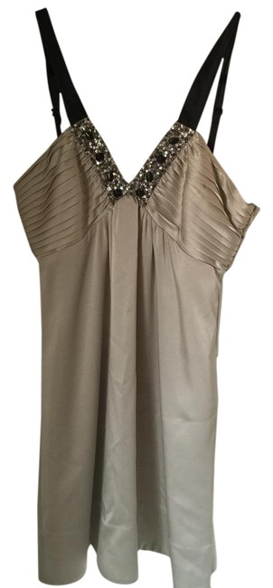 Preload https://item2.tradesy.com/images/bcbgmaxazria-champagne-above-knee-cocktail-dress-size-petite-10-m-18981511-0-1.jpg?width=400&height=650